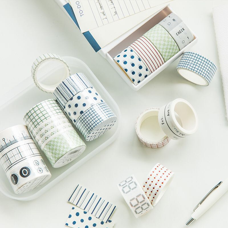 JIANWU 3pcs/set 20mmX3m Sense Of Life Ceremony Series Tape Set Bullet Journal Diy Diary Cute Stickers Decorative Tape