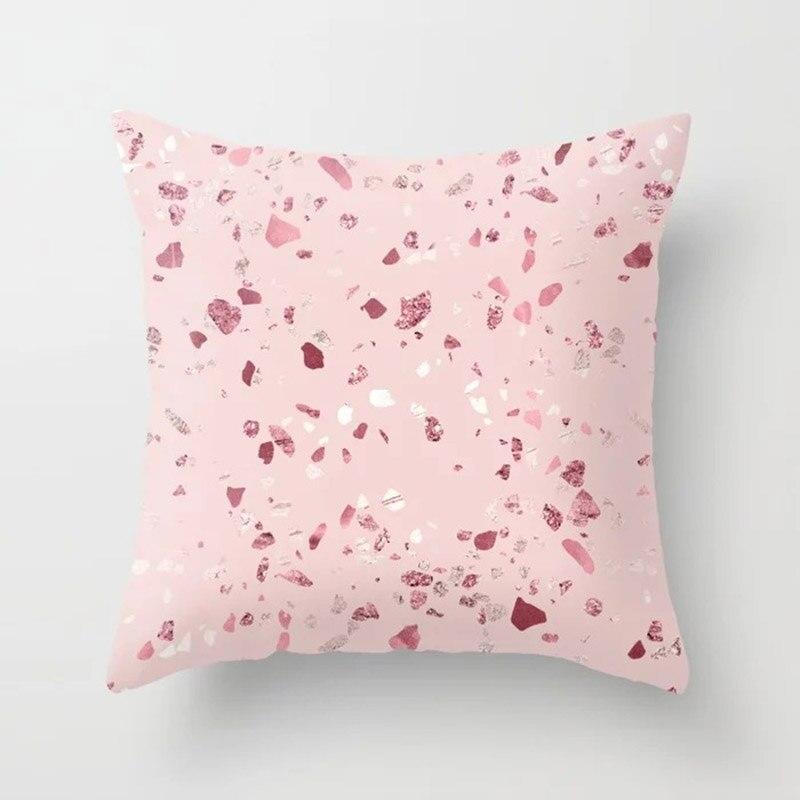 Hf2ccdc06ad4d46ad915fbfcd9a292724k New 1PC Popular Cushion Case Geometric Tropic Pineapple Nordic Sofa Pink Pillow Decorative