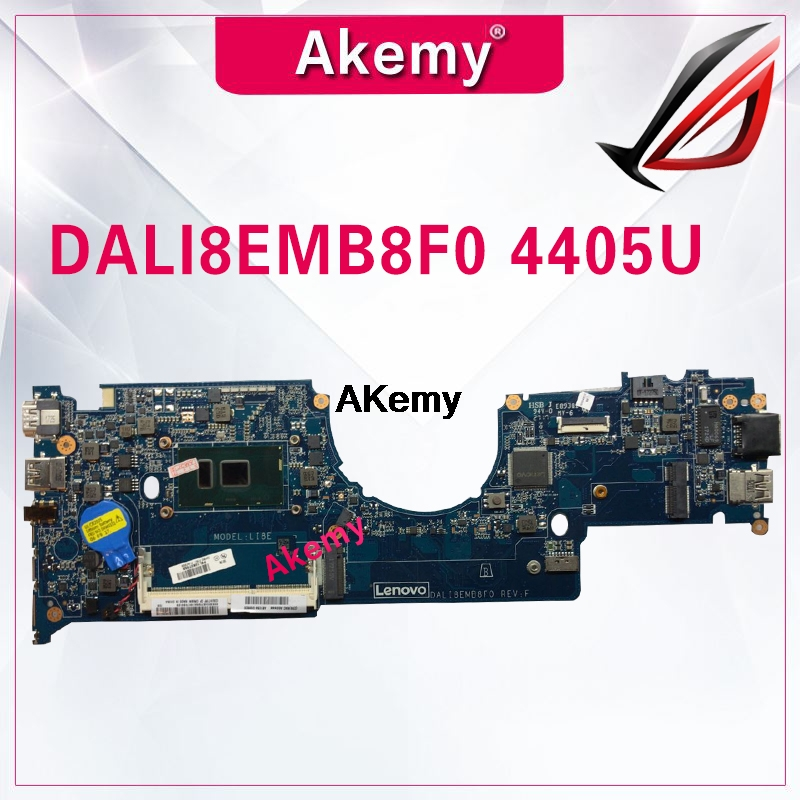 DALI8EMB8F0 FRU  01AV956  For Lenovo ThinkPad  YOGA 11E Laptop Motherboard CPU 4405U DDR3L