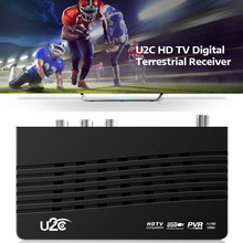 U2C DVB-T2 HD Receiver HD 1080P Digital TV Receiver PVR Smart TV Box H.264 For Watching TV Game(China)