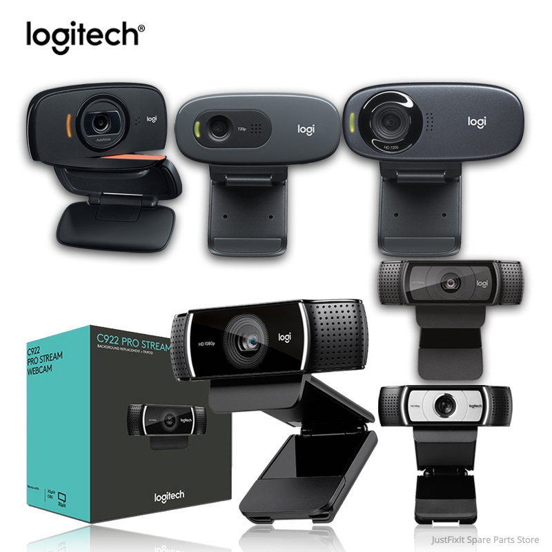 New Logitech C920E 1080p HDWeb Camera With Built-in HD Microphone C930C Video C922 C525 C310 C270 Suitable For Desktop Or Laptop