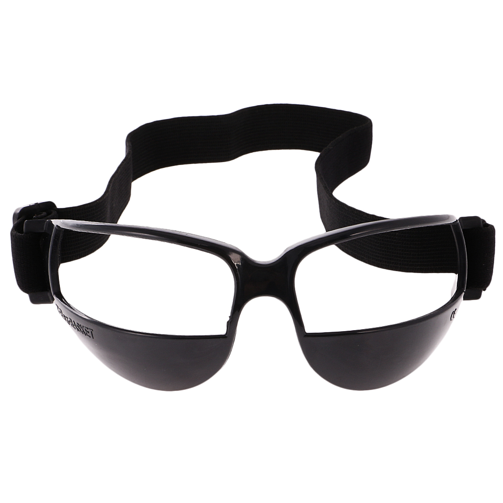 Professional Basketball Glasses Dribble Dribbling Specs Anti Down Goggles Basketball Training Aid, White Or Black
