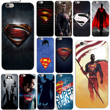 Marvel Hero Superman Soft Silicone TPU Phone Cases for