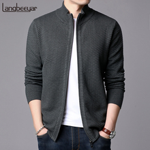 New Fashion Jackets Mens Stand Collar Cardigan Trend Streetwear Overco