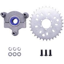 32T Adaptador Fit 1.5 polegada 1 1/2 polegada 415 Cadeia Roda Dentada 49cc 50cc 66cc 80cc 2 Avc Motorizada Bicicleta