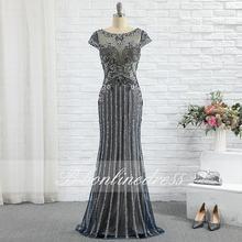 Элегантные вечерние платья русалки длинное роскошное платье
