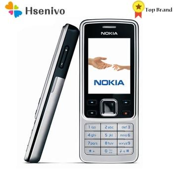 Nokia 6300 Refurbished-Original Unlocked Mobile Phone Unlocked 6300 FM MP3 Bluetooth Cellphone One Year Warranty Free shipping 1