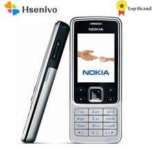 Nokia 6300 remodelado-original desbloqueado telefone móvel desbloqueado 6300 fm mp3 bluetooth celular um ano de garantia frete grátis