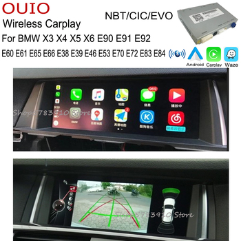 wireless carplay Android Carlief interface For BMW X3 X4 X5 X6 E90 E91 E92 E60 E61 E65 E66 E38 E39 E46 E53 E70 E72 E83 E84 image