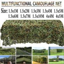 Deserto camuflagem rede selva camuflagem caça à terra fotografia militar obturador cobertura do carro net, 7 cores, tamanho pode ser customizi