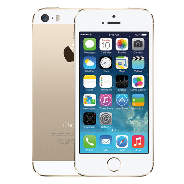 """Original iPhone 5S Used 99% New Mobile Phone 3G 4G Dual Core 4"""" 8MP WIFI 3G iPhone5s Unlocked A1457 Cellphones Used 3"""