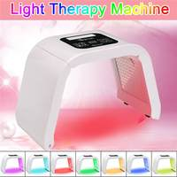 Hot 4/7 Colors LED Photon Mask Light Therapy PDT Lamp Beauty Machine Treatment Skin Tighten Facial Acne Remover Anti wrinkle