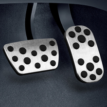 For  TOYOTA IOZA car pedal gas foot rest stainless modified pad non slip performance aluminium fuel