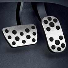 купить For  TOYOTA IOZA car pedal gas foot rest stainless modified pad non slip performance aluminium fuel по цене 578.77 рублей