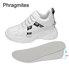 Phragmites Fashion All-match Shoes Woman Platform Sneakers Ladies Lace-Up  Breathable Zapatillas Mujer