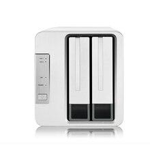 2 Bay HDD NAS 2bay NAS für Zuhause SOHO Büro Netzwerk Lagerung Cloud Server 1Gb Speicher 1 * RJ 45 G Ethernet Raid Funktion