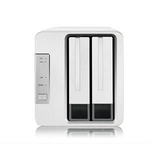 Image 1 - 2 Bay HDD NAS 2bay NAS per la Casa Ufficio SOHO di Storage di Rete Cloud Server 1Gb di Memoria 1 * RJ 45 G Ethernet Funzione Raid