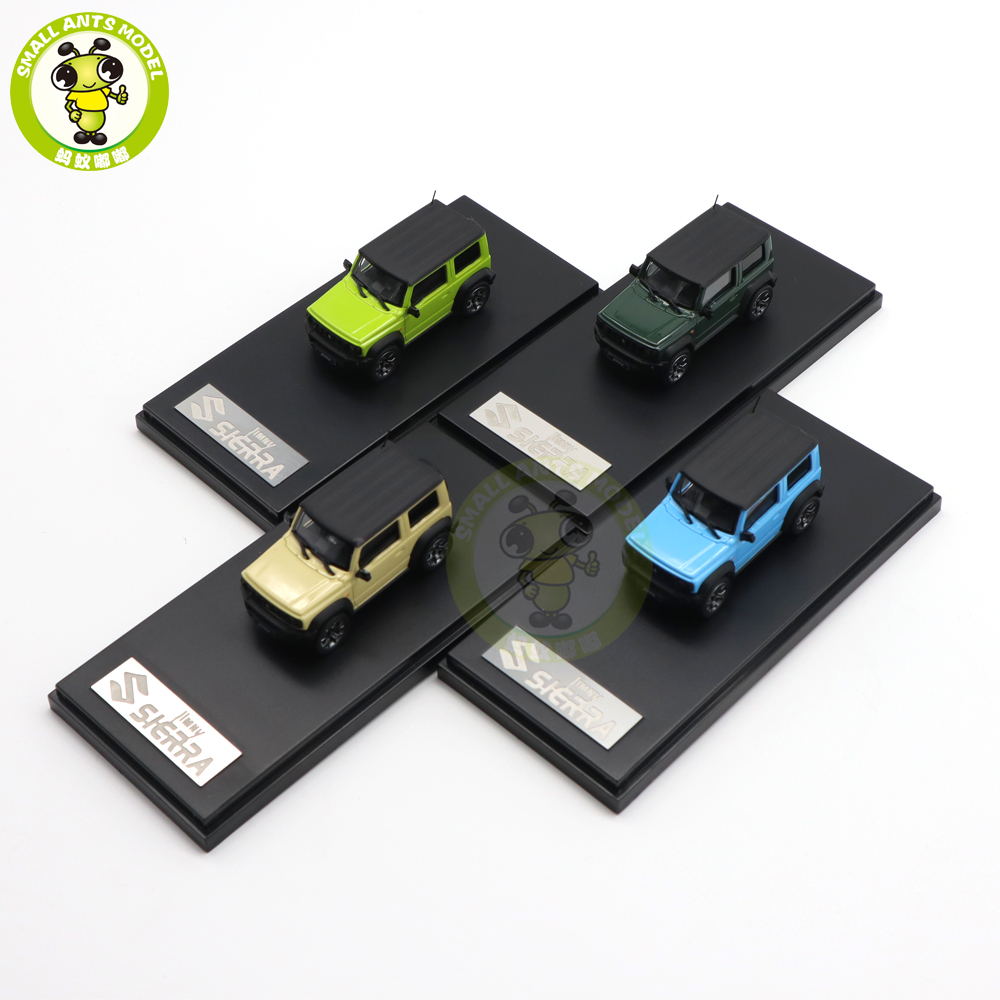 1/64 lcd jimny sierra suv diecast modelo de brinquedo carro meninos meninas presentes