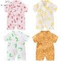 Очень качественный комбинезон для новорожденных; Цельнокроеная Одежда для мальчиков младенцев; Милая одежда для маленьких девочек; Нижнее ...