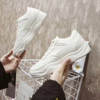 2018 New Sports Shoes Spring and Autumn Season Korean Version of The Women's Holiday Shop Shoes