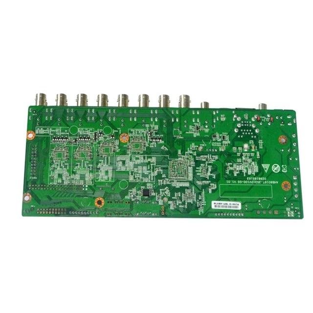 H.265 16Ch hybride DVR carte CCTV 5MP sécurité DVR NVR enregistreur caméra Onvif contrôle Coxial P2P XVI/AHD/TVI/CVI/CVBS/IP