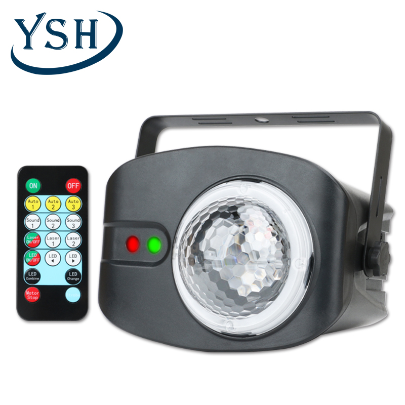 YSH LED Disco Stage Light Portable Family Party Magic Ball Colorful Light Bar Club Stage Effect Lamp For Wedding Decoration