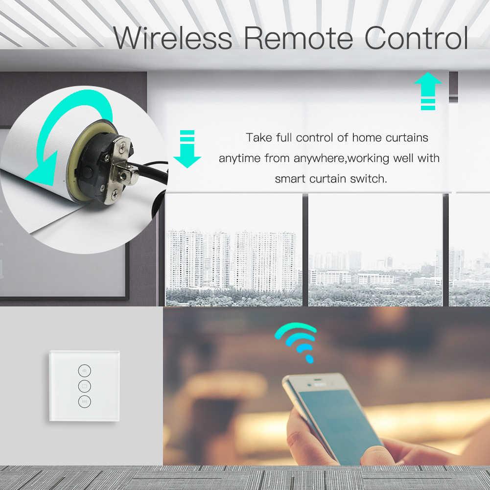 Автоматические умные трубчатые роликовые жалюзи мотор комплект с умная штора переключатель работа с Alexa Echo Goolge дома 35 мм