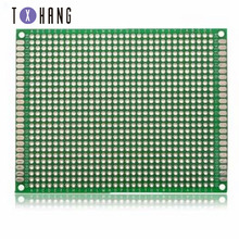 цена на 7cm x 9cm double-sided prototype Diy printed circuit board  universal PCB board Protoboard electronic accessories