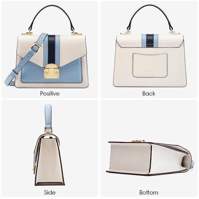 LA FESTIN новая женская сумка брендовая кожаная роскошная сумка 2019 Классическая Геометрическая сумка модная сумка через плечо сумки для женщин