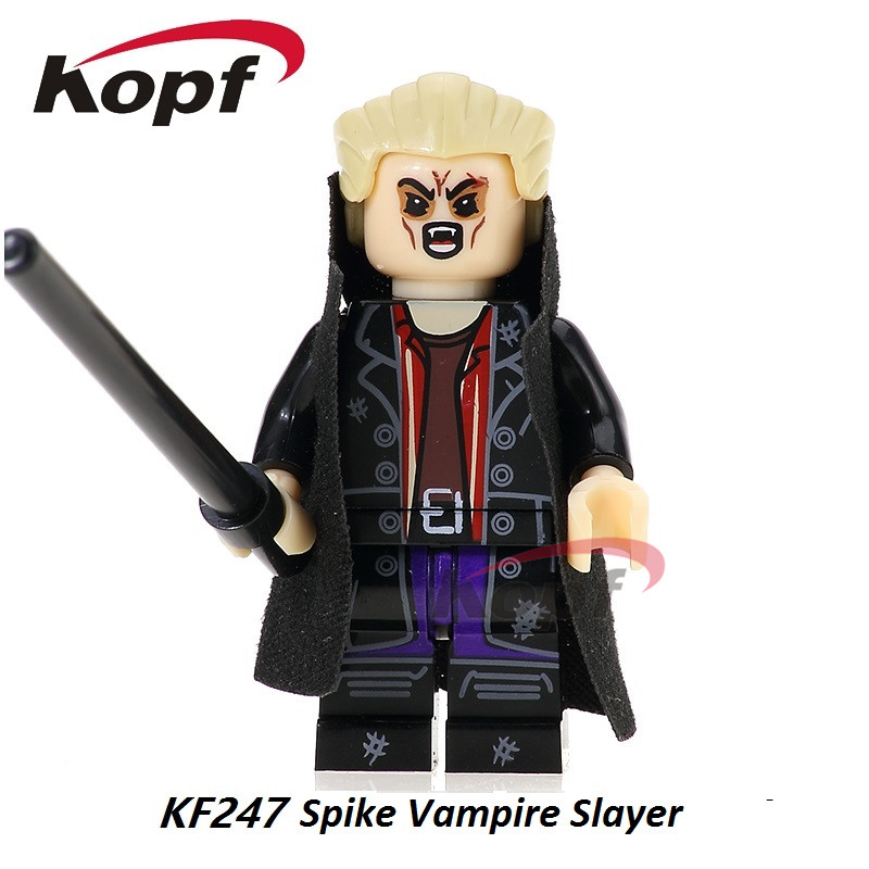 Single Sale Super Heroes Spike OZ Angel Buffy The Vampire Slayer Series Building Blocks Best Collection Toys For Children KF247