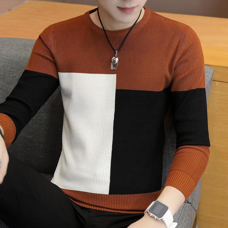2020 Winter New Arrivals Thick Warm Sweaters O-Neck Wool Sweater Men Brand Clothing Knitted Cashmere Pullover Men m-3xl 2
