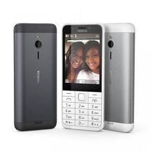 Unlocked cell phone Nokia 230 flashlight FM Single/Dual Sim 2.0MP camera refurbished English/Hebrew/Arabic/Russian keypad