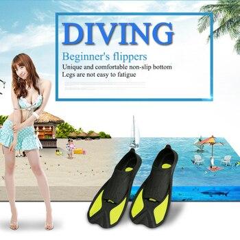 Aletas cortas para buceo, aletas antideslizantes, cómodas y duraderas para surf, natación,...