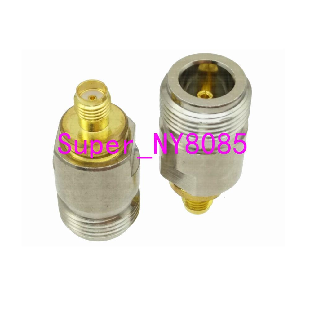 Adapter N Female Jack To SMA Female Jack Straight RF COAXIAL