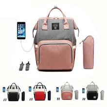 Get more info on the USB Diaper Bag+Milk Bottle (heat preservation)+stroller hooks+USB cable Mummy Backpack Baby Care Bag Travel Backpac