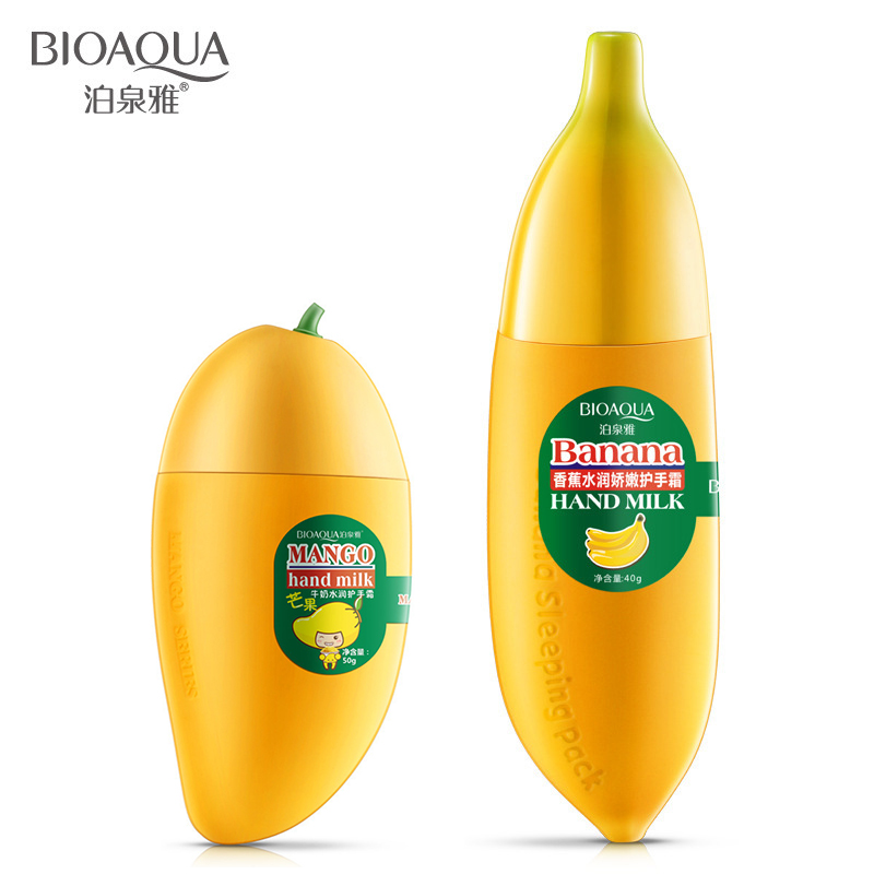 1pc Banana/Mango Cream for Hands Moisture Women Winter Hand Care Nutrition Anti-Chapped Lotion Oil Control Hand Cream TSLM2