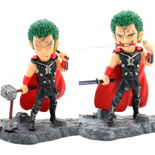 Anime One Piece Roronoa Zoro Thor Ver PVC Action Figure Collectible Model doll toy 12cm one piece brinquedos meninos onepiece zoro pvc action figure collectible toys for kid boy