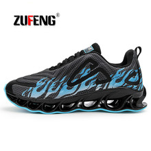 Brand Profession Men Running Shoes Damping Blade Shoes Fast Run Sport Shoes Athletic Cushioning Athletic Sneakers msfsir favourite outdoor athletic men running shoes men brand summer breathable mesh cow leather sport shoes men sneakers run