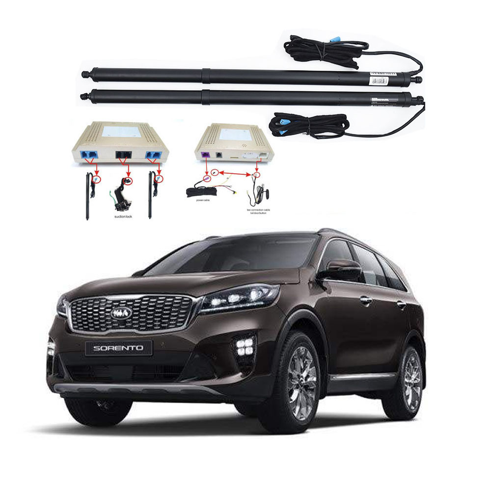New Electric Tailgate Refitted For KIA SORENTO 2016 -2020 Tail Box Intelligent Electric Tail Door Power Tailgate Lift Lock