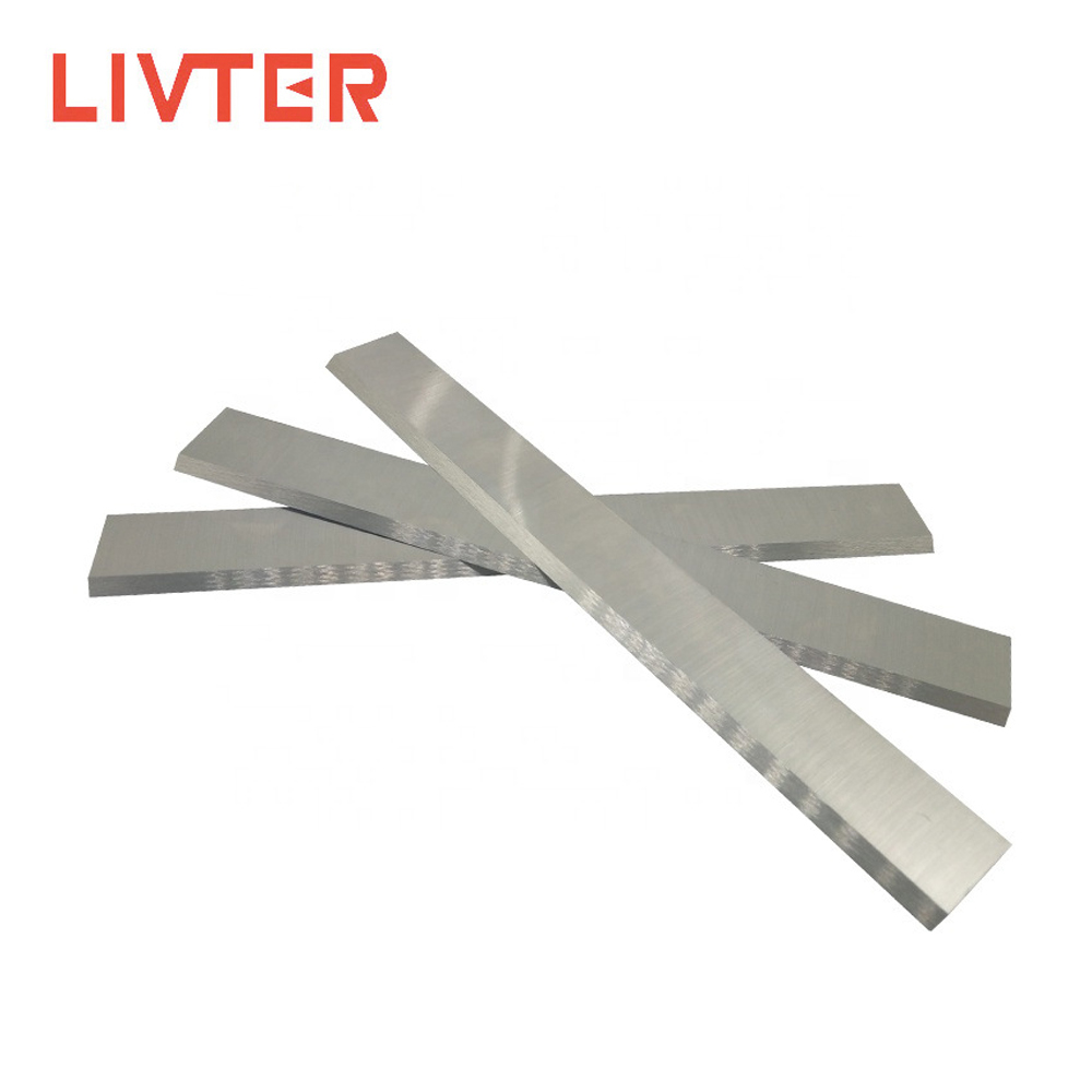 LIVTER 250mm 300mm 400mm 500mm 600mm High Speed Steel Flat Straight Knife Blade For Jointer Thickness Planer