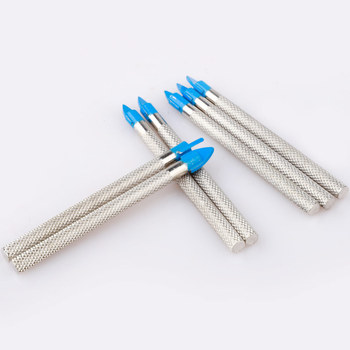 цена на 10pcs Masonry Drill Bits Set Broca Tile Drilling Tool Glass Hole Opener for Concrete Ceramic Tile Mirror Porcelain Marble
