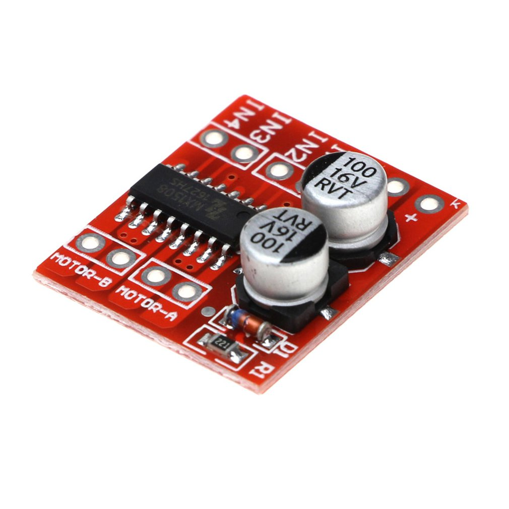 2-Channel Pwm Speed Control Dc Motor Drive Module Double H-Bridge Stepper Motor Mini Super L298N Positive Reversal