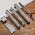 Дверные ручки контракт американский тип двери шкафа потрясение дверная ручка Nordic груди шкафчик ящик мебельные ручки Европе один хо