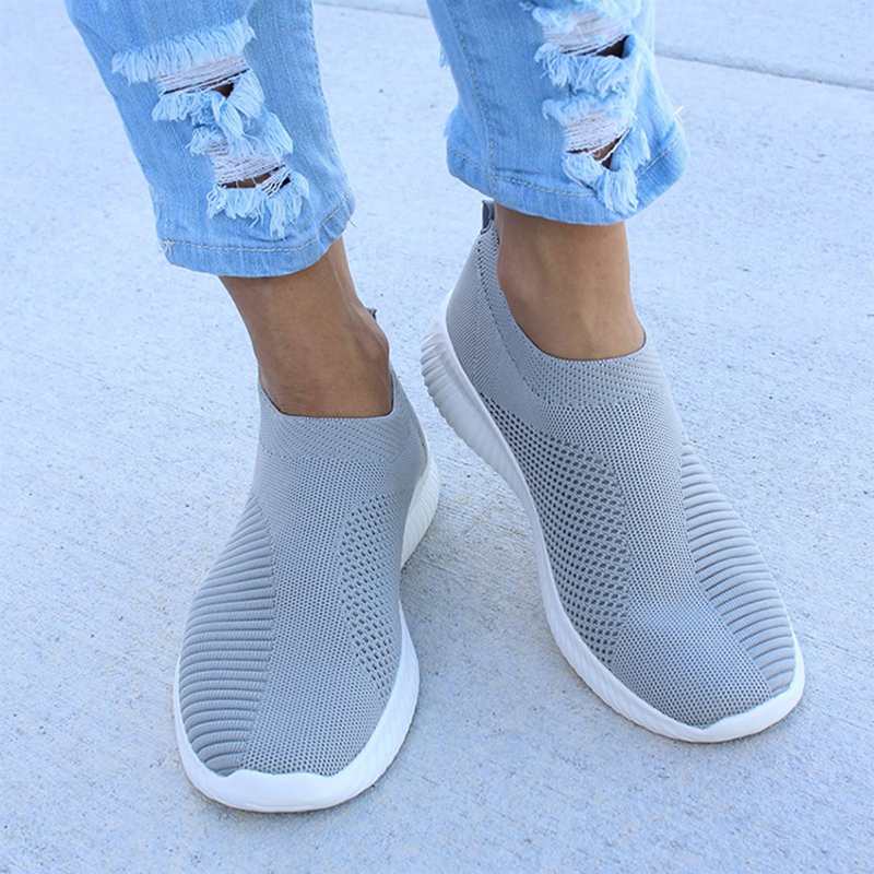 Spring Summer Women Sneakers Fashion Socks Shoes Casual Vulcanized Shoes Women White Sneakers Knitted Trainers Tenis Feminino