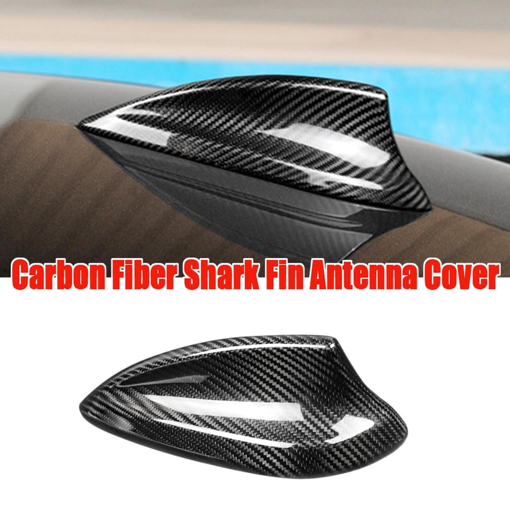 Крышка антенны из настоящего углеродного волокна, для BMW E90 E92 F20 F30 F10 F34 G30 G20 F15 F16 F21 F45 G30 G20 X4 X5 X6