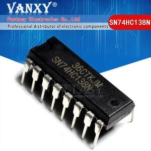 Image 1 - 10PCS SN74HC138N DIP16 SN74HC138 DIP 74HC138N 74HC138 DIP 16 nuovo e originale IC
