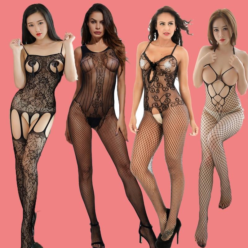 Sexy Erotic Lingerie Women Porn Babydoll Open Bra Crotch  Dress Hot Lace   Costumes  Underwear