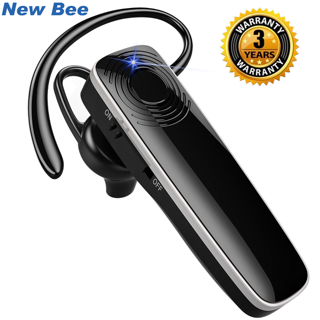 Nova Abelha наушники V5.0 Som Fones De Ouvido Estéreo Sem Fio Bluetooth Headset Handsfree Fones de Ouvido com Microfone para iPhone xiaomi CVC6.0