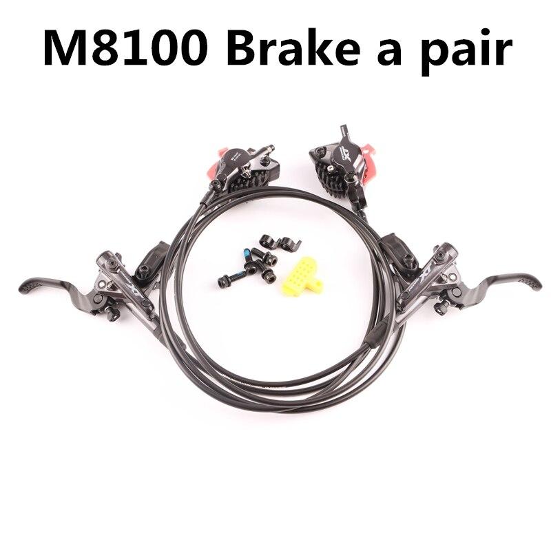 Shimano Deore XT M8000 M8100 Hydraulische Bremse set Eis Tech Kühlung Pads vorne und hinten für mtb fahrrad teile 800/1500mm