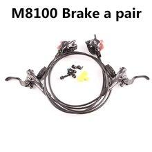 Shimano Deore XT M8000 M8100ชุดเบรกไฮดรอลิกIce Tech Cooling Padsด้านหน้าและด้านหลังสำหรับชิ้นส่วนจักรยานMtb 800/1500มม.